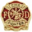 Firefighter Logo Charm