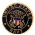 Navy Logo Charm