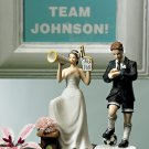 #1 Fan Cheering Bride Figurine 9017
