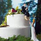 Hooked on Love Groom Cake Top Figurine 7096