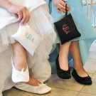 Bridal Ballet Slippers and Embroidery Gift Pouch #10494