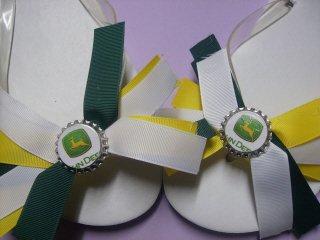 John Deere Flip Flops