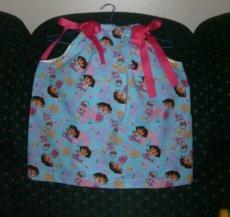 Dora PC Dress WIth Bow
