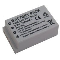 Sanyo Xacti VPC-SH1 Digital Camera Battery