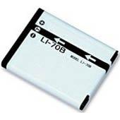 Replacement Olympus LI-70B, LI70B Li-ion Rechargeable Digital Camera Battery