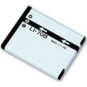 Replacement Olympus FE-4020, FE4020 Li-ion Rechargeable Digital Camera Battery