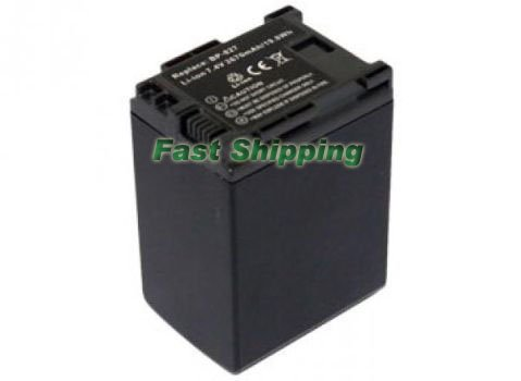New Canon bp-827, BP827 Camcorder Battery Pack, 1 Year Warranty