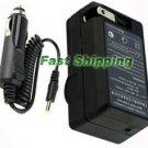 AC/DC Battery Charger for Samsung SB-P90A SB-P90ASL SB-90ASL SP90A Camera Battery