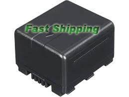 Panasonic VBN130 VWVBN130 VW-VBN130-K VW-VBN130GK Camcorder Battery