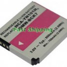 Panasonic DMW-BCK7PP camera battery, new battery 1-year warranty
