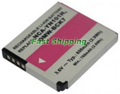 Panasonic Lumix DMC-FS18, DMC-FS28 camera battery, new battery 1-year warranty