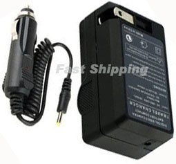 DMW-BTC10 Battery Charger for Panasonic DMW-BLF19E, DMW-BLF19 Battery
