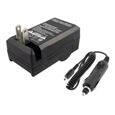 Canon LP-E6 LP-E6N LC-E6 LC-E6E Home Car Battery Charger AC/DC