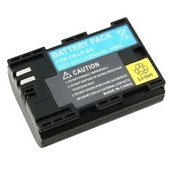 New Decoded Canon LP-E6 LPE6 LP-E6N Battery, 1 Year Warranty