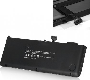 """New 77.5WH A1382 replacement battery for Apple Macbook Pro Unibody 15"""" A1286 Core i7 2011 2012"""