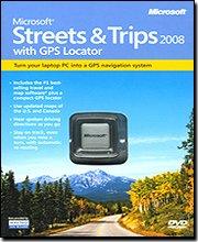Microsoft Streets & Trips 2008 w/ GPS Locat