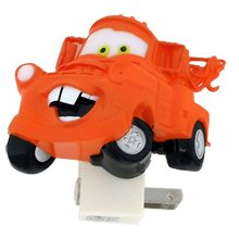 Disney's Cars Color Changing Night Light - Mater
