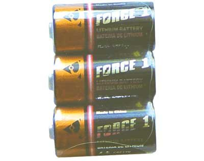 CR123 13v Stungun Batteries - Set of 3