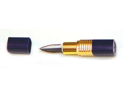 Lipstick Knife - Blue