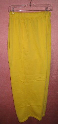 LANE BRYANT Venezia Yellow Stretch Plus Pants Sweats 5XP NEW With Tags