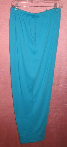 LANE BRYANT Woman LBW Baby Blue Stretch Pants Plus Size 4X New With Tags