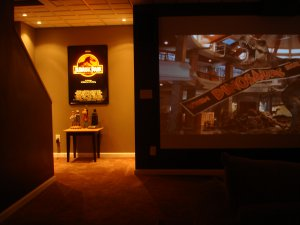 Home Theater Custom Movie Poster Lightbox Wall Inserted