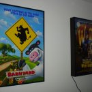 LIGHTED MOVIE POSTER FRAME LIGHTBOX Arcade Game Room
