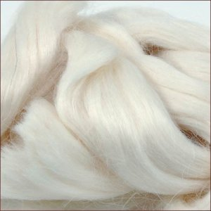 Mohair Basic: White