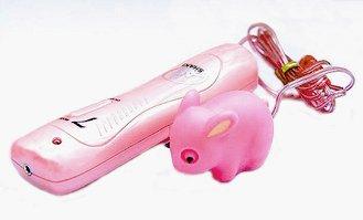 Cute Sparkling Pink Bunny Rabbit Waterproof 7 Function Massager