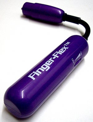Finger Flex (Purple) Massager
