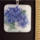 Fused Glass Pendant: Design #55