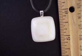 Fused Glass Pendant: Design #96