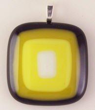 Fused Glass Pendant #184