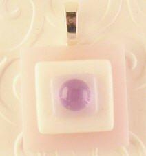 Fused Glass Pendant #288