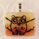 Fused Glass Pendant #320