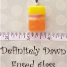 Fused Glass Pendant #366
