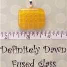 Fused Glass Pendant #353