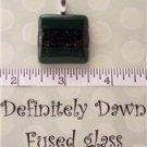 Fused Glass Pendant #270