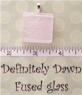 Fused Glass Pendant #214