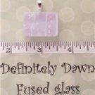 Fused Glass Pendant #210