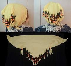 Beaded Head Scarves Bandanas
