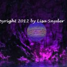 """I Found Your Crystal Ball 8"""" X 10"""""""