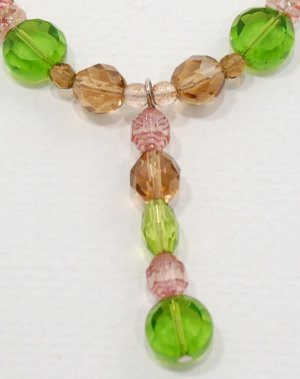 Czech Glass Necklace