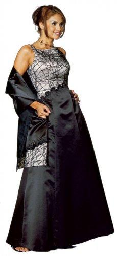 Multiple Crossed Bead Gown item s17274
