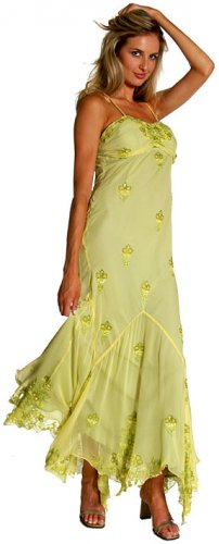 Donna Asymmetric Full Length Formal Dress  item #sd1027