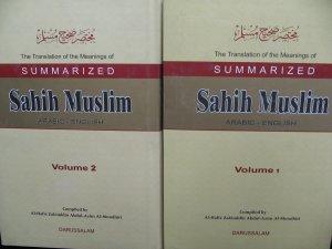 Summarized Sahih Muslim 2 Volume
