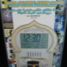 Auto Islamic Azan Clock with Qibla Direction