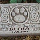 Celtic Pet Memorial Engraved 5026E