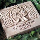Wild Orchid Memory Stone Engraved 5058E