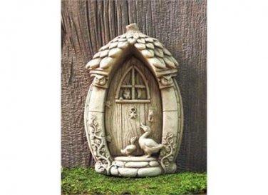 A Mother Gooses Fairy Door - Green 1247G